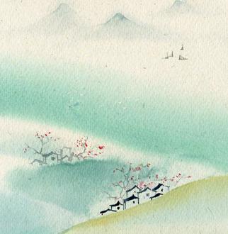『流年*茶色时光』依山观水(散文)